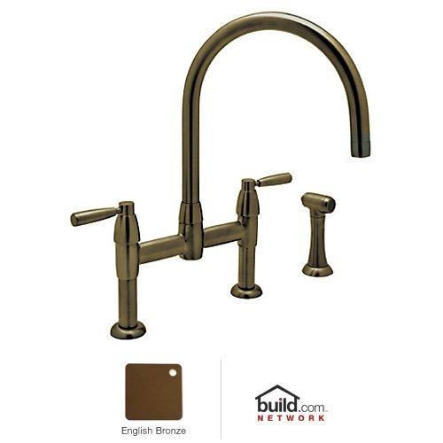 Rohl U.4273LS-EB-2 Ba600X-Pn Modern Bath Architectural Volume Control Pressure Balance Trim without Diverter Cross Handle