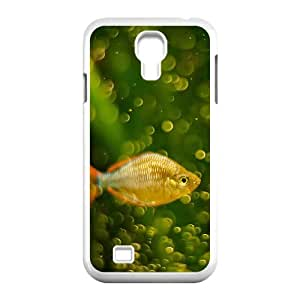 Okaycosama Funny Samsung Galaxy S4 Cases Fishy 2 for Girls, Samsung Galaxy S4 Case for Women, [White]