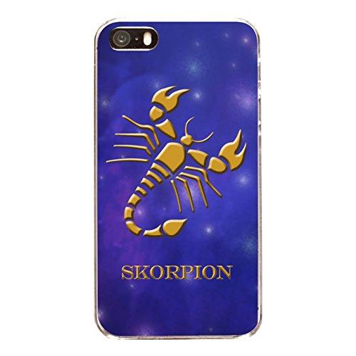 """Disagu Design Case Coque pour Apple iPhone 5 Housse etui coque pochette """"Skorpion"""""""