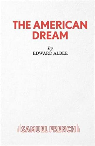 The American Dream A Play Acting Edition Edward Albee