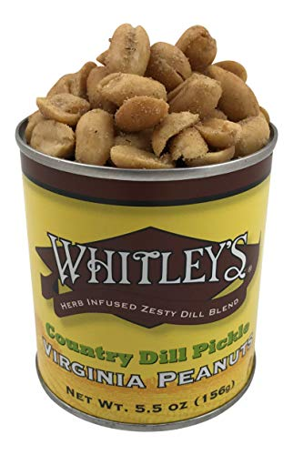 Whitley's Country Dill Pickle Virginia Peanuts 5.5 Oz ()