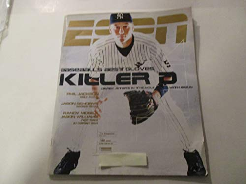 JULY 12, 1999 ESPN MAGAZINE FEATURING DEREK JETER OF NEW YORK YANKEES *BASEBALL'S BEST GLOVES KILLER D* *DEREK JETER'S IN THE HOLE WITH A GUN*