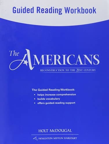amazon com the americans guided reading workbook reconstruction to rh amazon com the americans guided reading workbook answers the americans guided reading answers