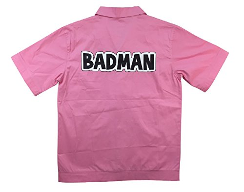 [Dragonball Z Vegeta BADMAN Costume Shirt (Medium)] (Bulma Costume)