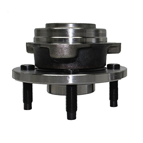 Detroit Axle - NO ABS Front Driver or Passenger Wheel Hub and Bearing Assembly fits Non-ABS 4-Lug Models - for Cobalt, G5 Pursuit, ()