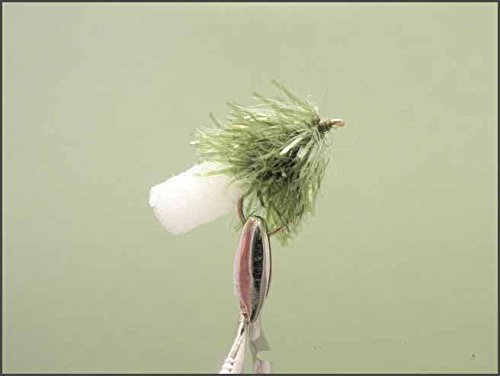 Good for Rainbows Size 10 Foam Ass Blob trout Flies 6 Pack Olive FAB