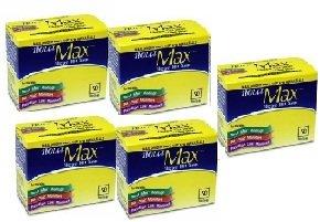 Nova Max Glucose Test Strips 250Ct. Nfrs Bundle Savings (5 boxes of 50Ct= 250CT Total) by Nova Max