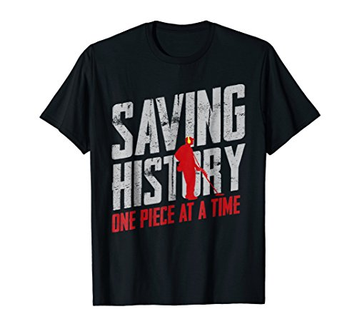 Metal Detector Saving History Shirt (Best Selling Metal Detector)