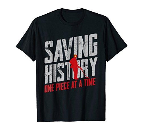 Metal Detector Saving History Shirt
