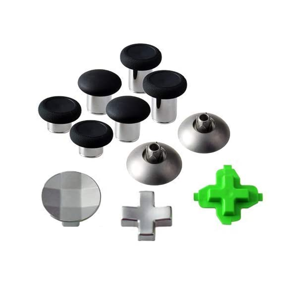 EEEKit Controller Thumbsticks Replacement Parts Metal Magnetic Thumbsticks Swap Replacement fit for Xbox one Controller… 2