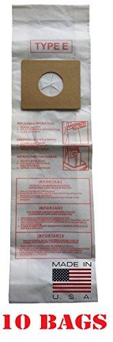 10 Dirt Devil Type E Premium American Made Micro-Lined Vacuum Bags, 10 pack. by Dirt Devil