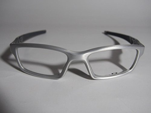 25ce168fef Oakley Men s Crosslink Pro Prescription Rx Eyewear Frame - Brushed  Aluminum  Amazon.ca  Clothing   Accessories