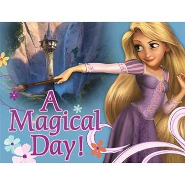 Hallmark Disney's Tangled Invitations -