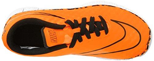 NikeFree Hypervenom (Gs) - zapatillas de fútbol Niños-Niñas Naranja - Orange (Ttl Orange/Ttl Orng-White-Blk)