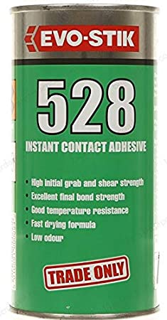 Evo Stik 528 Contact Adhesive - 1.Litre 805507 EVO5281L B0001P03IS Adhesives Adhesives and Fillers Contact Adhesives Fixings and Hardware Items