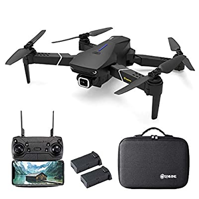 EACHINE E520S GPS Drone with 4K Camera for Adults, 5G WiFi FPV Live Video GPS Return Home 32mins Flight Time Follow Me RC Professional Quadcopter for Adults Carrying Case and Two Batteries: Toys & Games