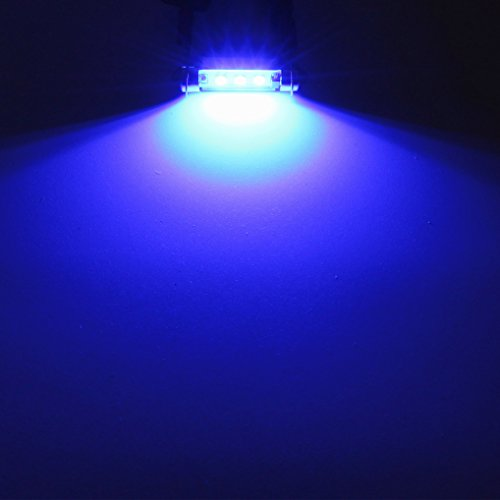 Alla Lighting CANBUS Error Free 41mm 17Super Bright White High Power 3030 SMD 211 2 212 2 569 578 LED Bulbs For Interior Festoon Map Dome License Plate Lights Lamps Replacement
