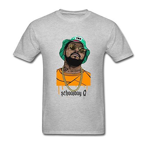 RrelmY Men's Schoolboy Q Oxymoron T shirts