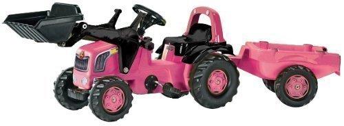 Trettraktor Mädchen - Rolly Rosa Traktor