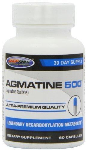 USP Labs Agmatine 500 Capsules, 60 comte