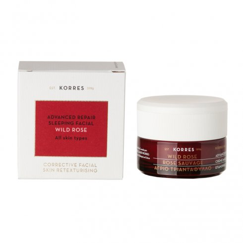 2-x-korres-wild-rose-advanced-repair-sleeping-facial-2-jars-x-40ml-13oz