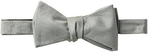 Amazon Brand - BUTTONED DOWN Men's Classic Silk Self-Tie Bow Tie