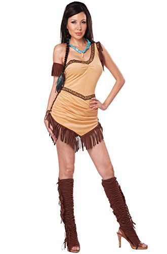 Native Beauty Adult Costumes - California Costumes Women's Native American Beauty