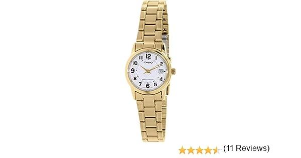 CASIO Reloj con Movimiento Cuarzo japonés LTP-V002G-7: Casio: Amazon.es: Relojes