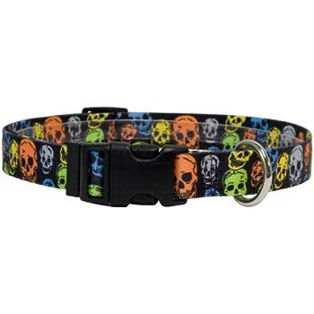 Null Yellow Dog Design One Size Fits All Rasta Break Away Cat Collar
