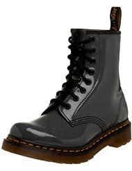 (好价)Dr. Martens 1460经典8眼马丁靴 Eight-Eye Lace-Up Boot 灰色亮皮 折后$55.66