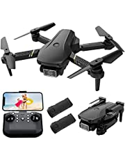 $65 » MiniDronewithCamera,Dronewith1080PHDFPVCameraMini Drone for Kids and Adults Wifi FPV Foldable QuadcopterBeginner Drone ToysGiftsforBoysGirlswith2Batteries