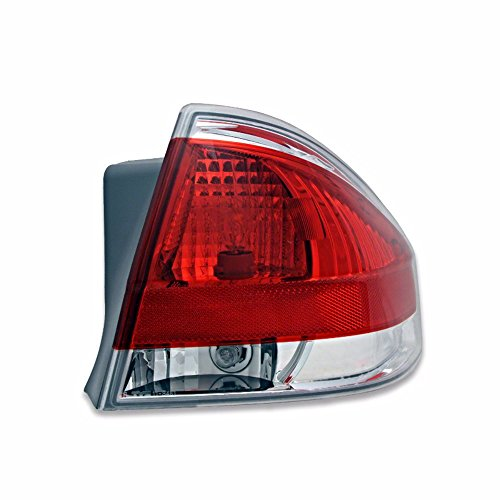 BAP Fits 08-11 Focus Right Passenger Tail Lamp Assembly w/Chrome Trim