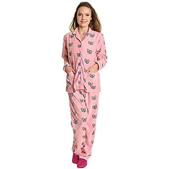 Angelina Cozy Pajama Set, #91156_Bow Tie_S
