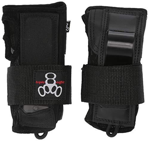 Triple 8 Saver Series Wristsaver II - Slide On Wrist Guard (Black, Small)