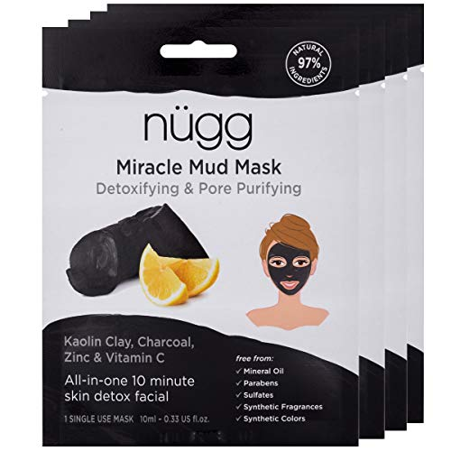 (NUGG Miracle Mud and Brightening Mask 4 Pack Set, 1 EA)