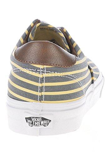 Vans U ERA 59  (STRIPES) YELLO - Zapatillas de lona unisex Yellow/True White