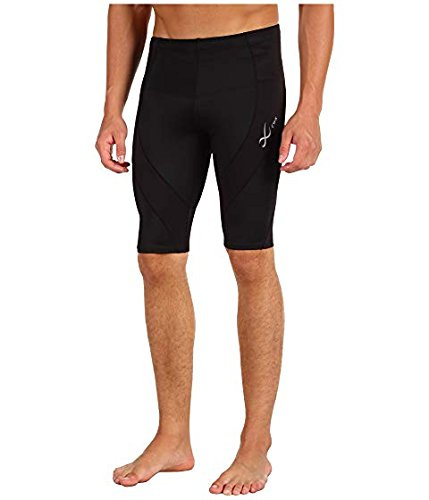 CW-X Conditioning Wear Men's Pro Shorts, Black, Small