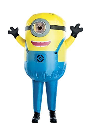 HalloCostume Boys Inflatable Stuart Costume - Despicable Me 3 Halloween Costumes for Boys, Kids -