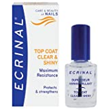 ECRINAL Clear and Shiny Strengthening Topcoat 10ml