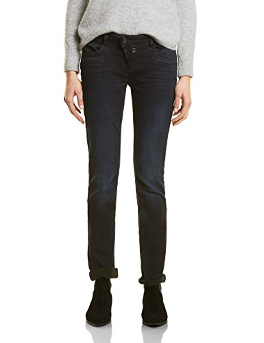 11231 Straight Jeans Dark Blue Wash Donna Street One Blu 4TqTaw