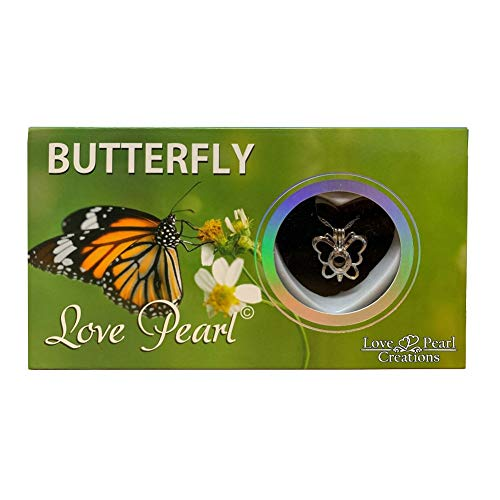 Love Pearl Creations Wish Kit with Pendant Necklace (Butterfly) (Wish Pearl Butterfly)