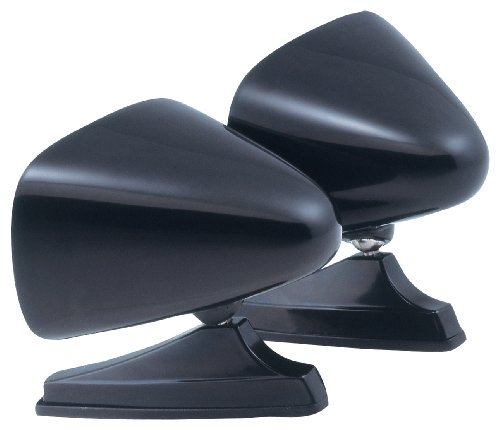 - Fit System 1600B Black Universal Dual Sport Mirror - Twin Pack