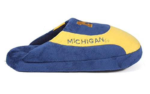 Slippers OFFICIALLY College Wolverines LICENSED Feet and Michigan Womens Happy Pro Mens NCAA Low qUvfwnI