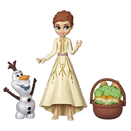 Disney(디즈니) 겨울왕국 2 아나 &올라프 스몰 돌 피규어 세트 인형