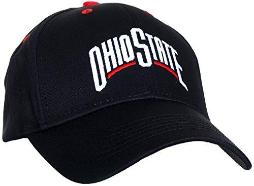Ohio State Buckeyes Men's MVP Ball Cap (Black)
