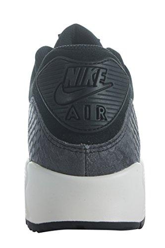 896497-005 Kvinner Wmns Air Max 90 Prm Nike Svart / Svart-seil-mørk Grå