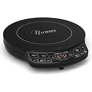 NuWave PIC Titanium 2016 Model Year 1800 Watts Highest Powered Induction  Cooktop With Variable Watts Adjuster