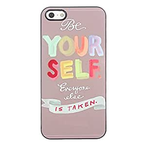 DUR Be Yourself Style Aluminium Hard Case for iPhone 4/4S