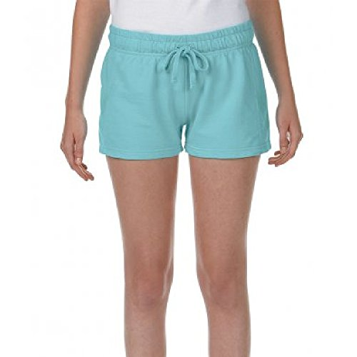 (Comfort Colors Womens/Ladies French Terry Shorts (XXL) (Chalky Mint))