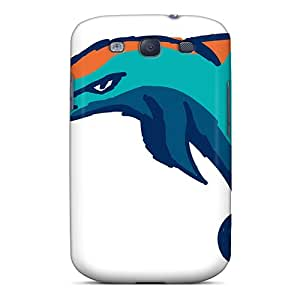 IMISSYOU DNo1053zMqL Protective Case For Sumsang Galaxy S3(miami Dolphins)